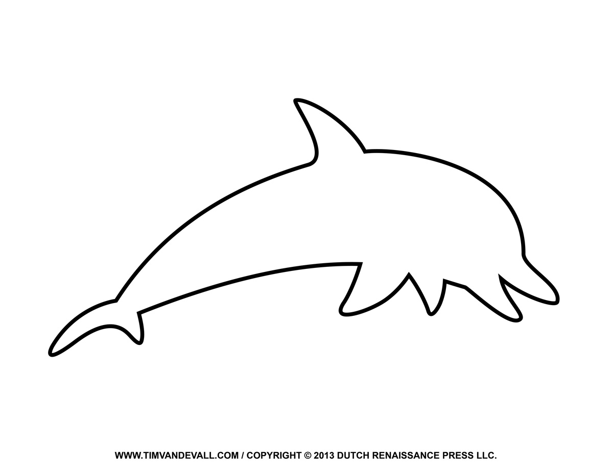 dolphin outline for coloring free dolphin clipart printable coloring pages outline for dolphin coloring outline