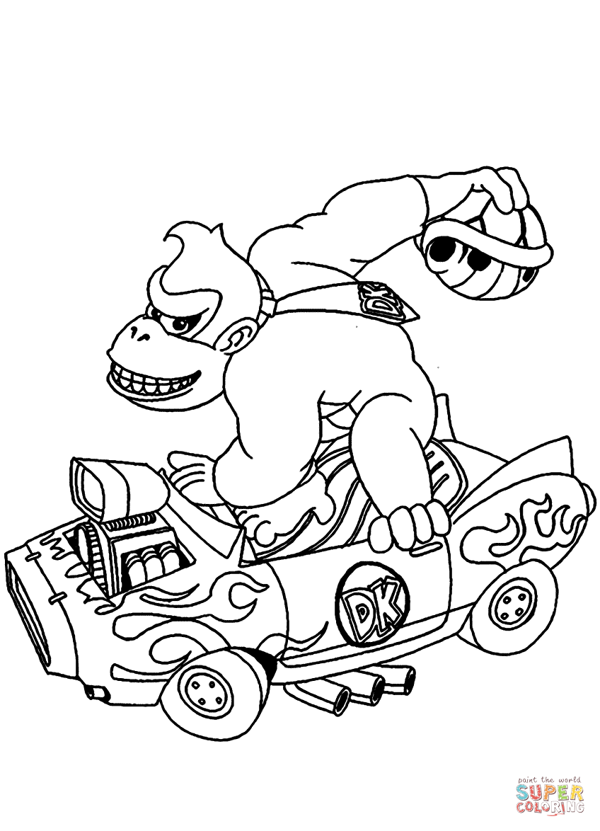 donkey kong coloring pages to print donkey kong coloring pages to download and print for free donkey pages kong print to coloring