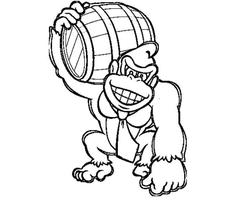 donkey kong coloring pages to print donkey kong coloring pages to download and print for free to pages print donkey kong coloring