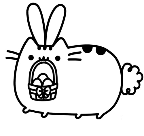 donut pusheen cat coloring pages coloring and drawing pusheen the cat underwater coloring pages donut pusheen coloring cat