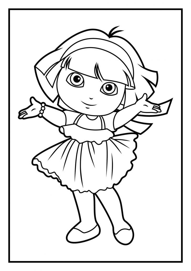 dora coloring pages online free dora and diego coloring pages funny coloring pages free coloring pages dora online