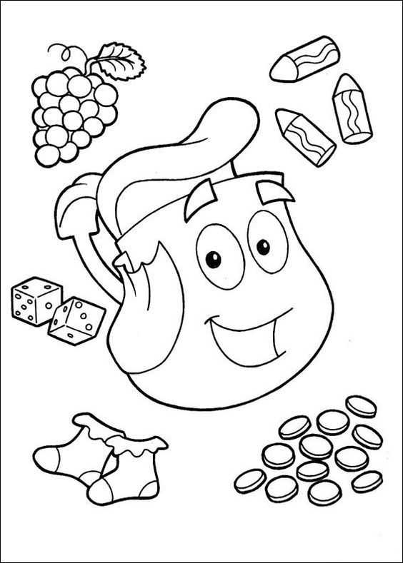 dora coloring pages online free dora coloring pages with gifts for kids printable free pages free dora online coloring