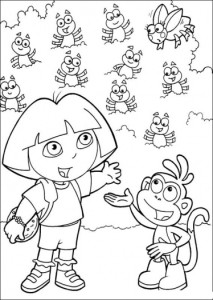 dora coloring pages online free dora the explorer coloring pages pdf coloring pages free dora online coloring pages