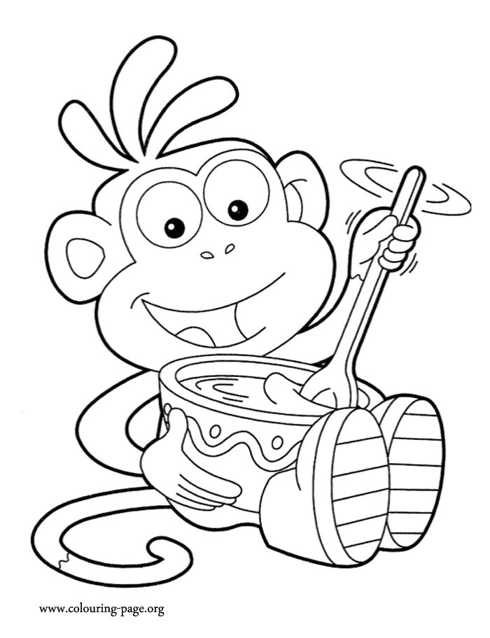 dora coloring pages online free pin by coloring fun on dora the explorer free coloring pages free coloring online dora