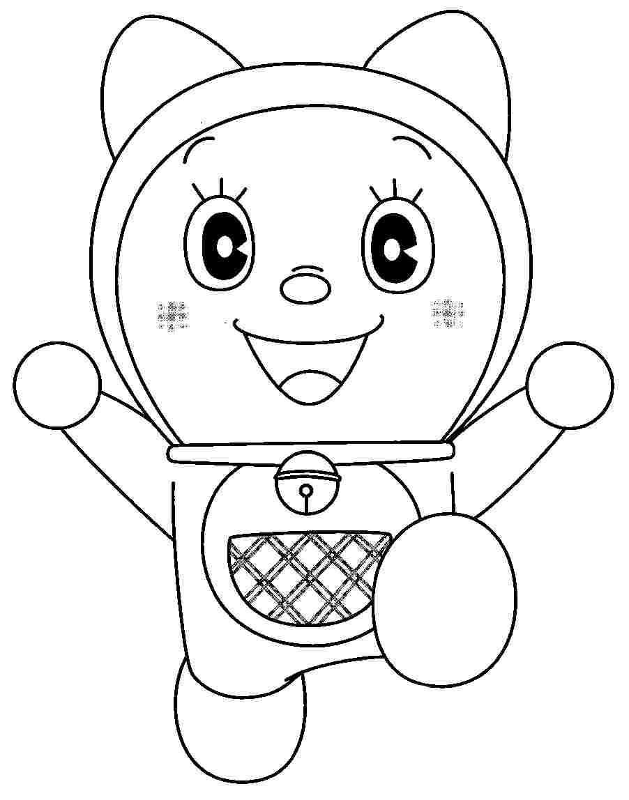 doraemon printable coloring pages coloring sheets cartoon doraemon gian printable free for pages printable coloring doraemon