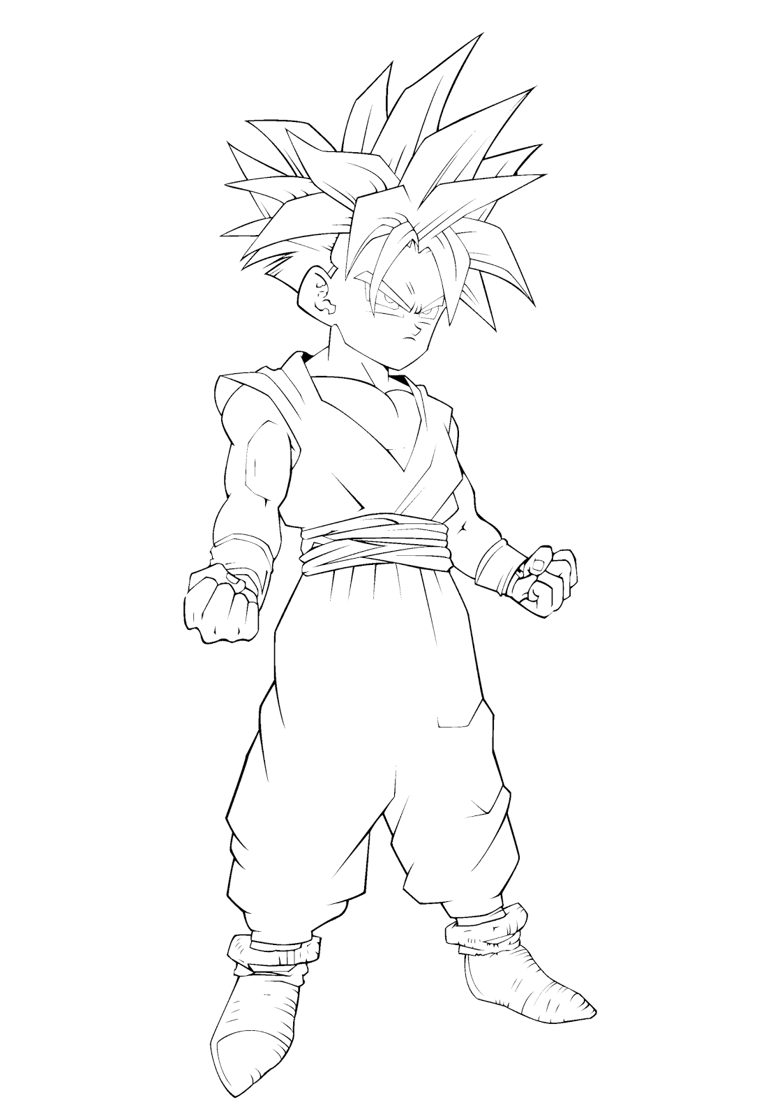 dragon ball z coloring pages gohan dragon ball z coloring pages gohan ball dragon z coloring gohan pages