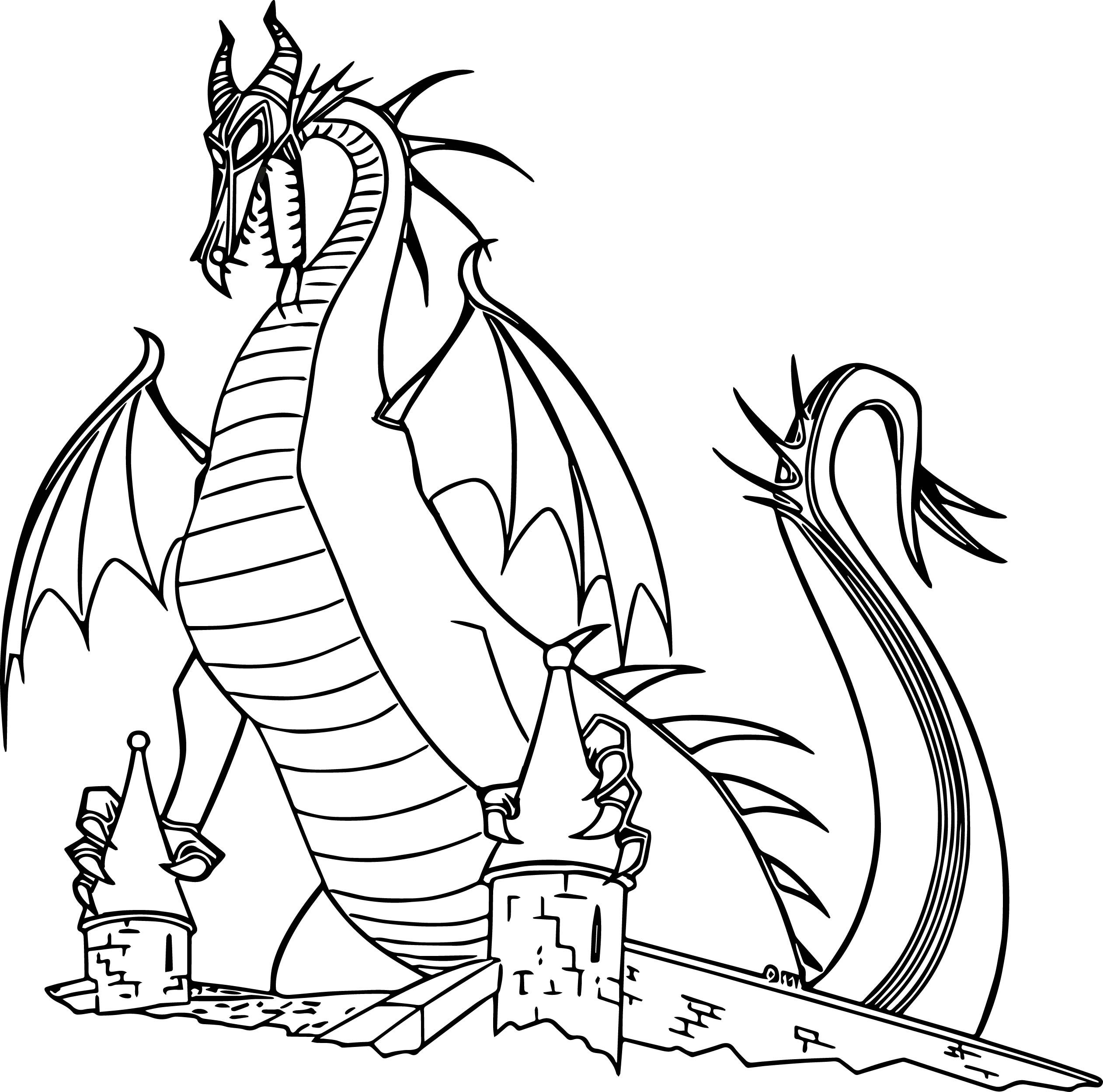 dragon coloring page detailed dragon coloring pages coloring home page dragon coloring