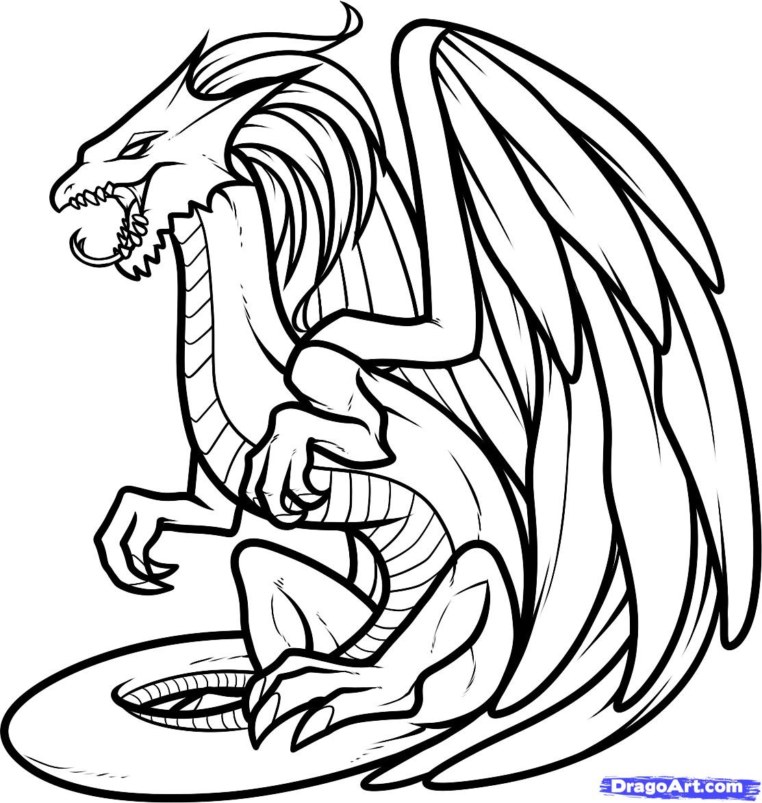 dragon coloring page dragon coloring pages to download and print for free dragon coloring page