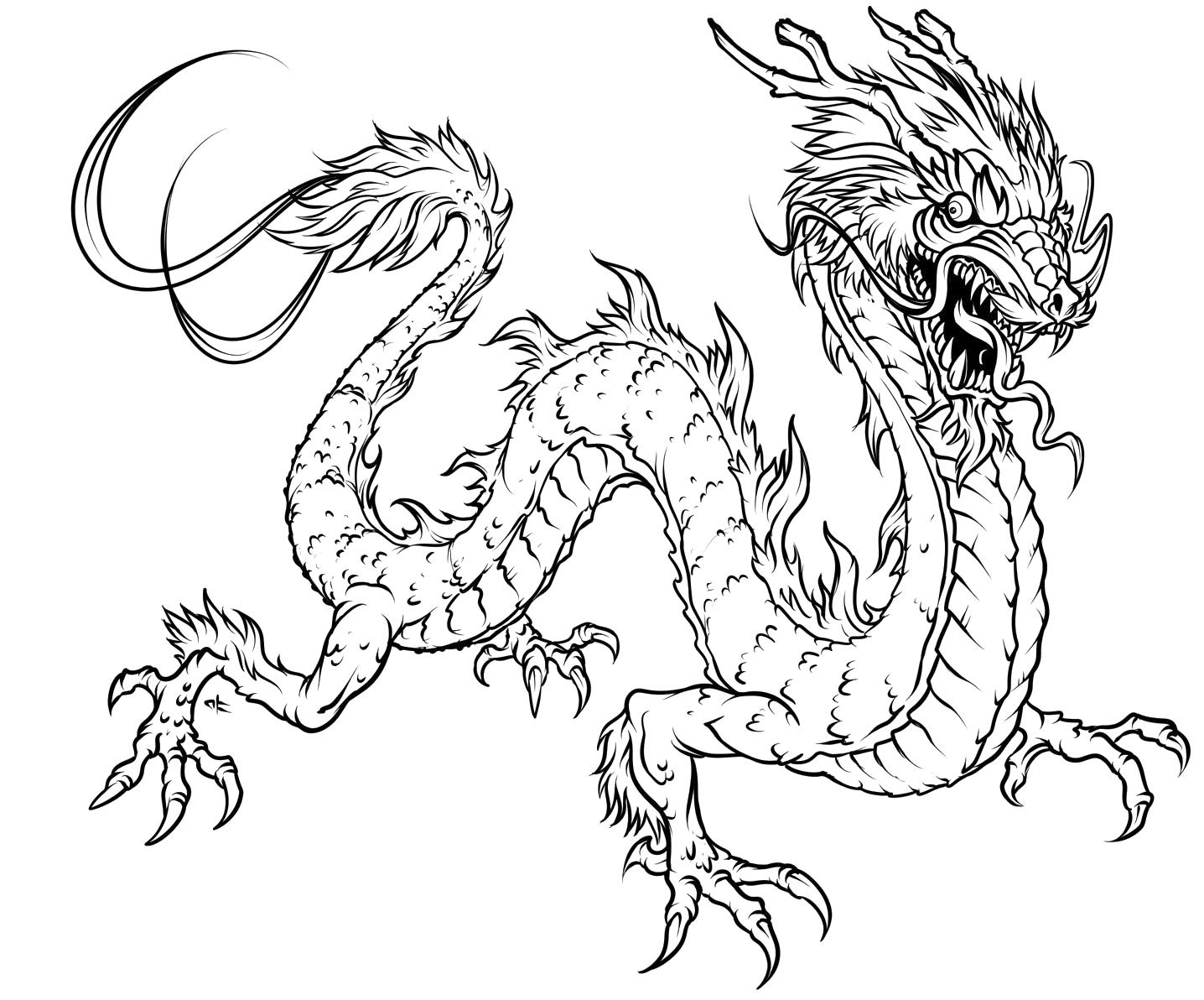 dragon colouring pictures detailed dragon coloring pages coloring home pictures colouring dragon