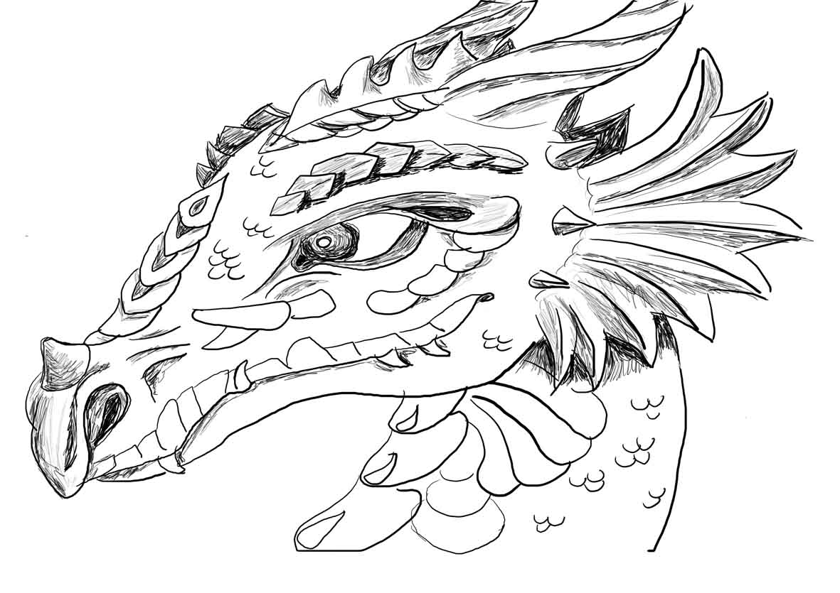 dragon for coloring detailed dragon coloring pages coloring home coloring for dragon