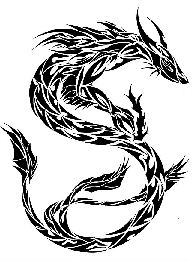 dragon outline chinese dragon outline clipartsco outline dragon