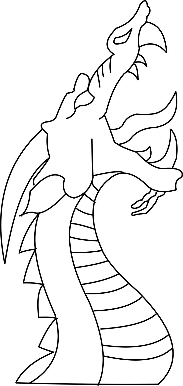 dragon outline how do you draw a dragon head complete drawing tutorial dragon outline