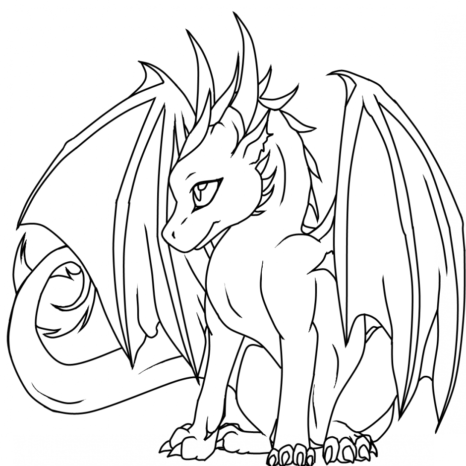 dragon printable coloring pages female dragon coloring pages free and dragon printable