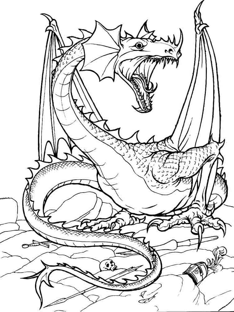 dragon printable dragons coloring pages download and print dragons printable dragon