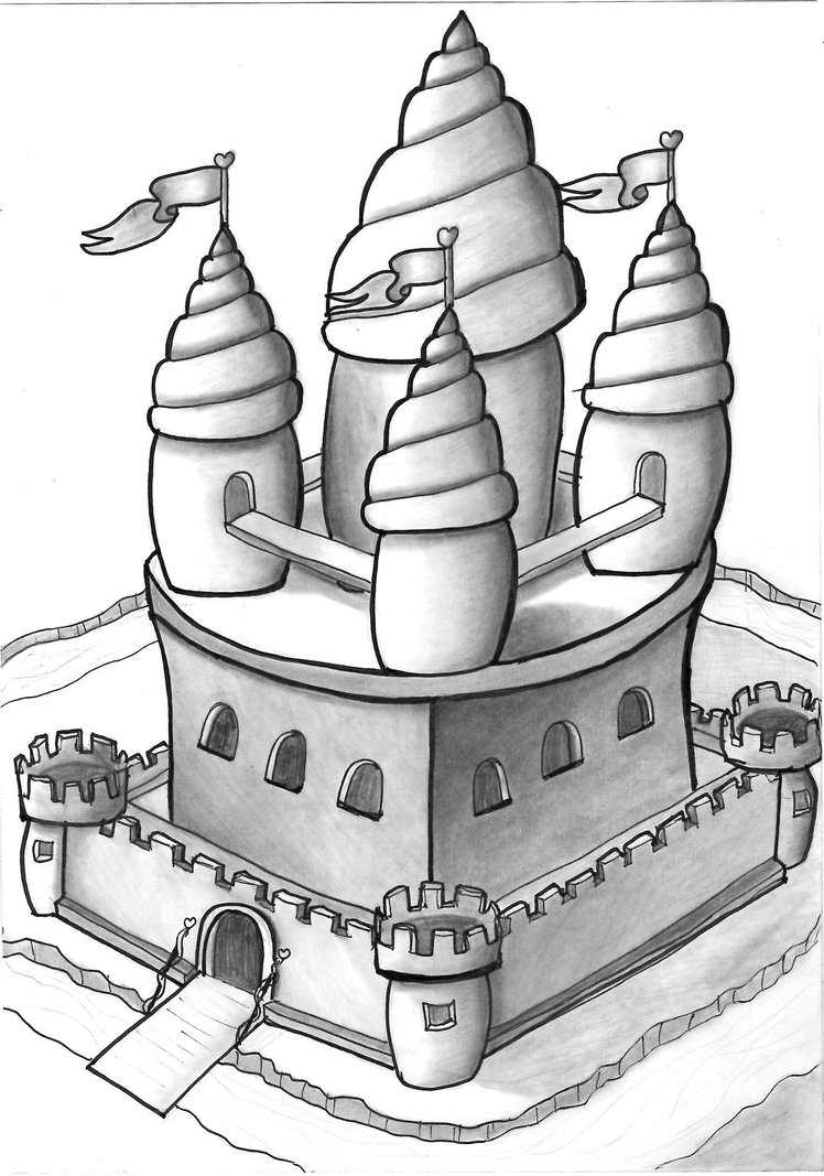 drawing castles 3d castle drawing at getdrawings free download drawing castles