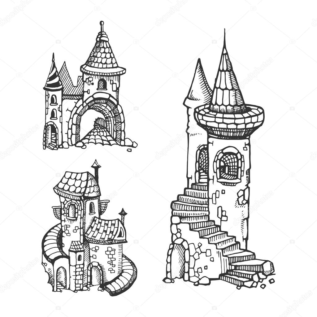 drawing castles castle tower drawing at getdrawings free download castles drawing