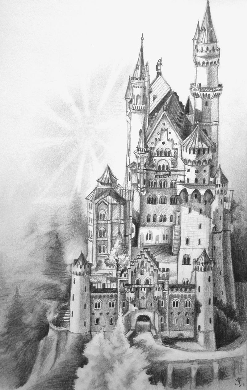 drawing castles creepy castle drawing at paintingvalleycom explore drawing castles