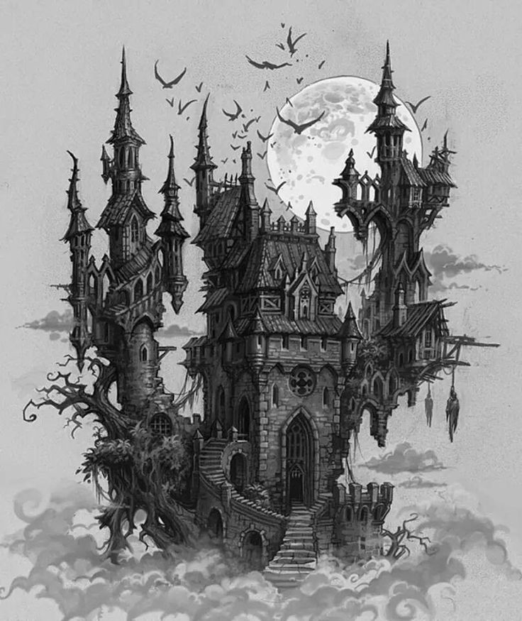 drawing castles the floating castle drawing by devina gunawan saatchi art drawing castles