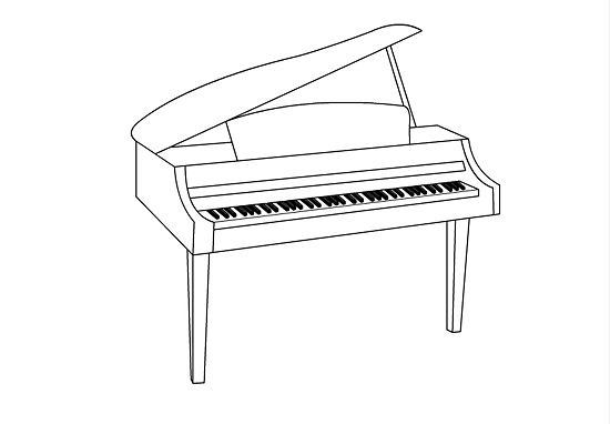 drawing piano how to draw a piano drawing piano