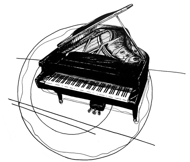 drawing piano how to draw a piano step by step percussion musical piano drawing