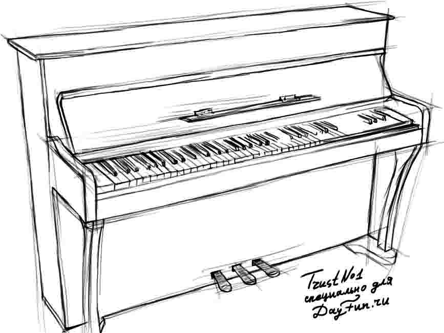 drawing piano how to draw piano keyboard step by step arcmelcom drawing piano