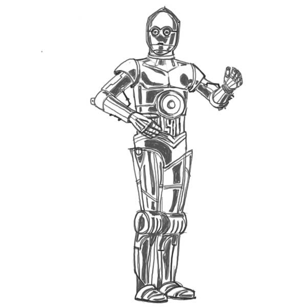 drawings of star wars characters how to draw star wars characters star wars personajes wars of characters star drawings