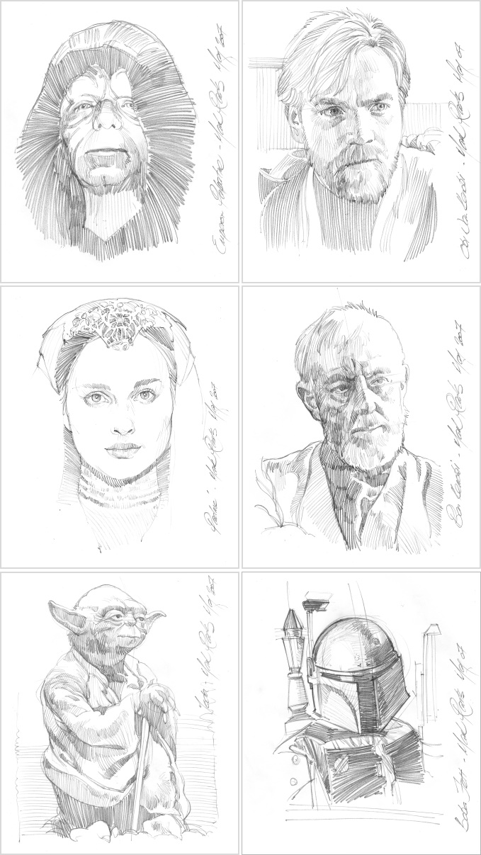 drawings of star wars characters star wars character sketches by markraats on deviantart characters of star wars drawings