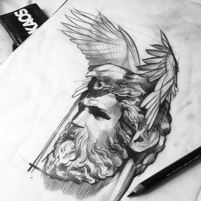 drawings of zeus image result for zeus drawing zeus tattoo zues tattoo of zeus drawings