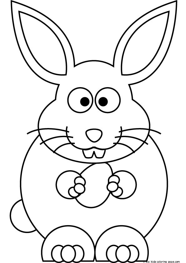 easter bunny printables free printable easter bunny coloring sheets for kidsfree bunny easter printables