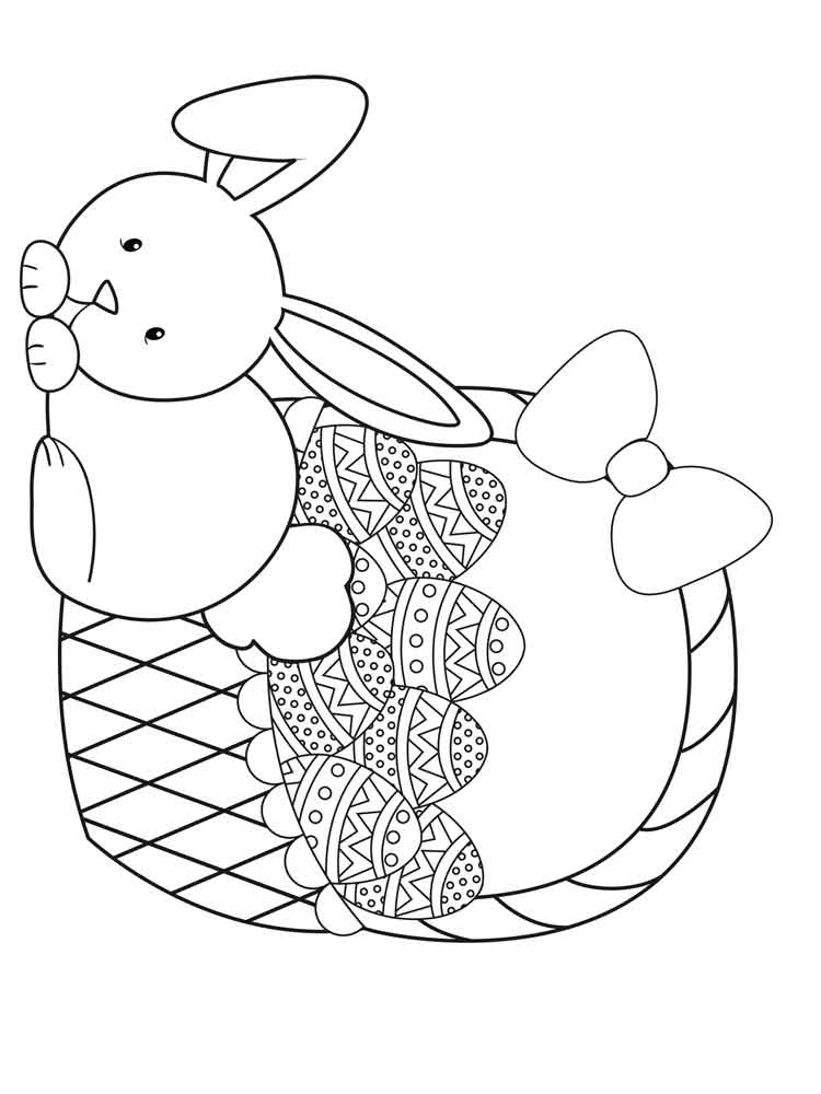easter bunny to print easter bunny coloring pages for kids family holidaynet easter print to bunny