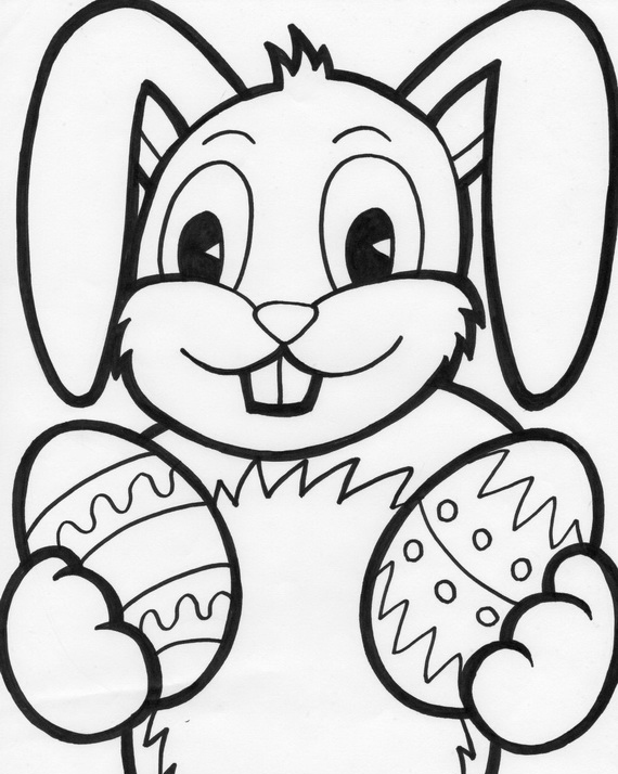 easter bunny to print free printable easter bunny coloring pages for kids to bunny easter print