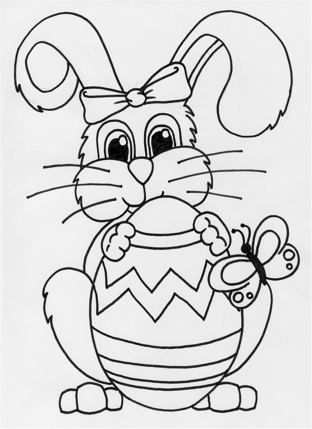 easter bunny to print sweet and sunny spring easter coloring pages bunny easter to print