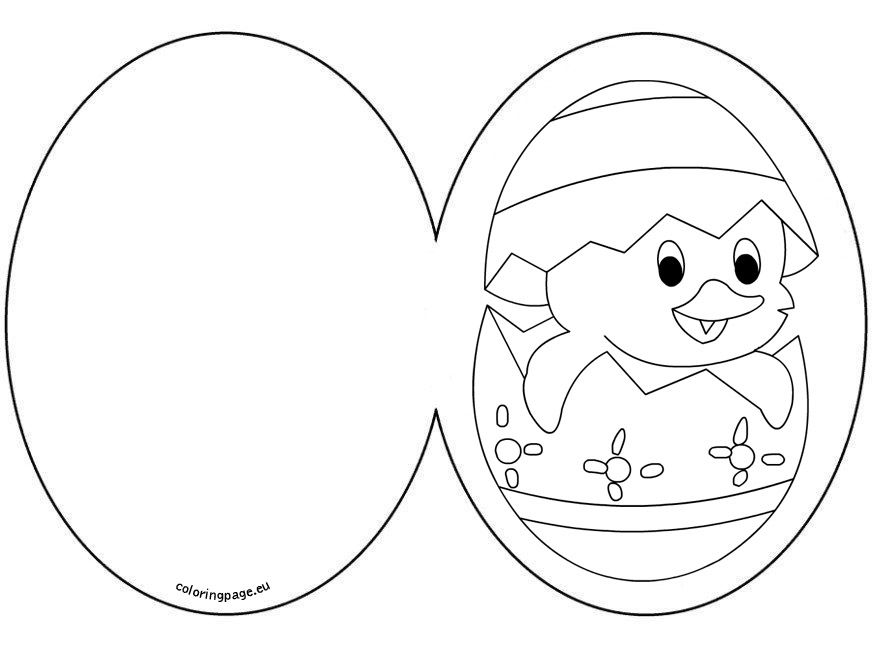 easter cards colouring easter card chick with egg coloring page colouring cards easter