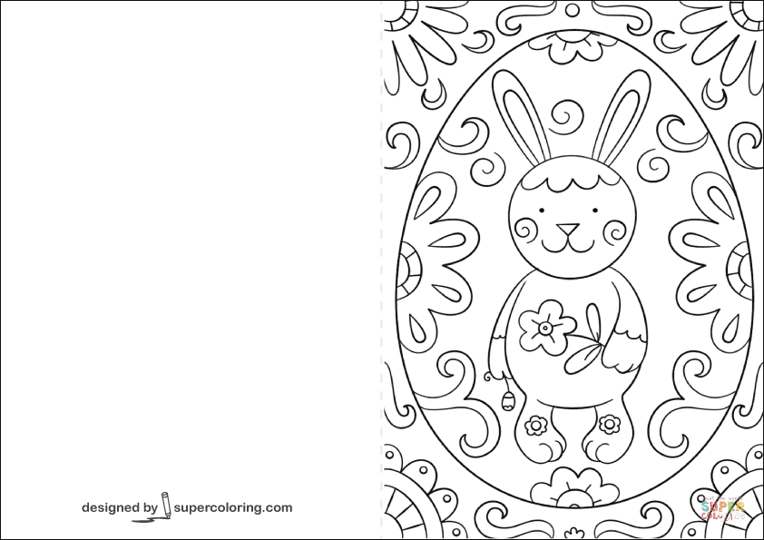 easter cards colouring happy easter card coloring page cards colouring easter