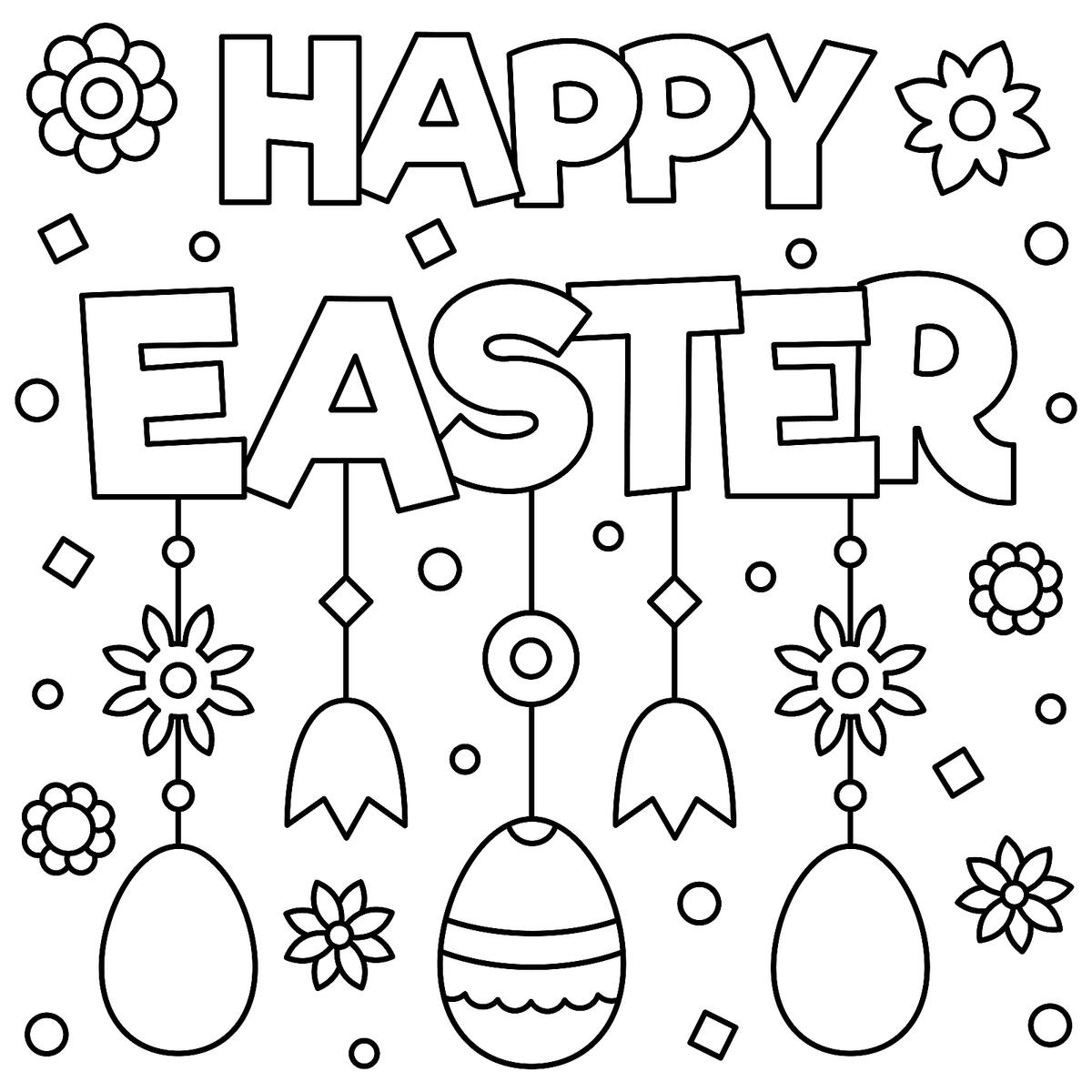 easter cards colouring happy easter card coloring page free printable coloring colouring easter cards