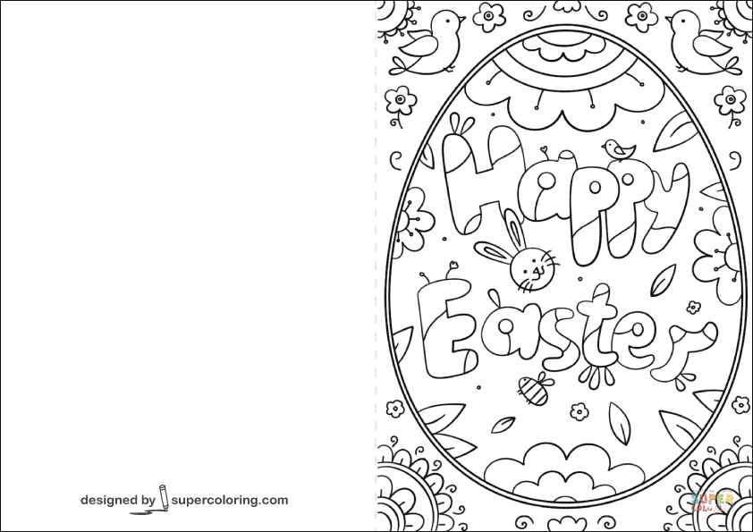 easter cards colouring happy easter card for coloring pictures for children cards colouring easter
