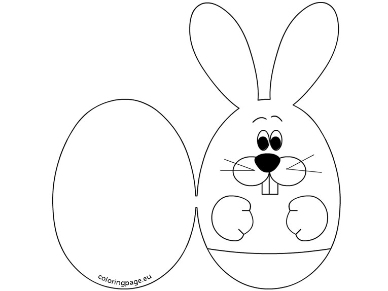 easter cards colouring rabbit face coloring page coloring coloring pages easter colouring cards