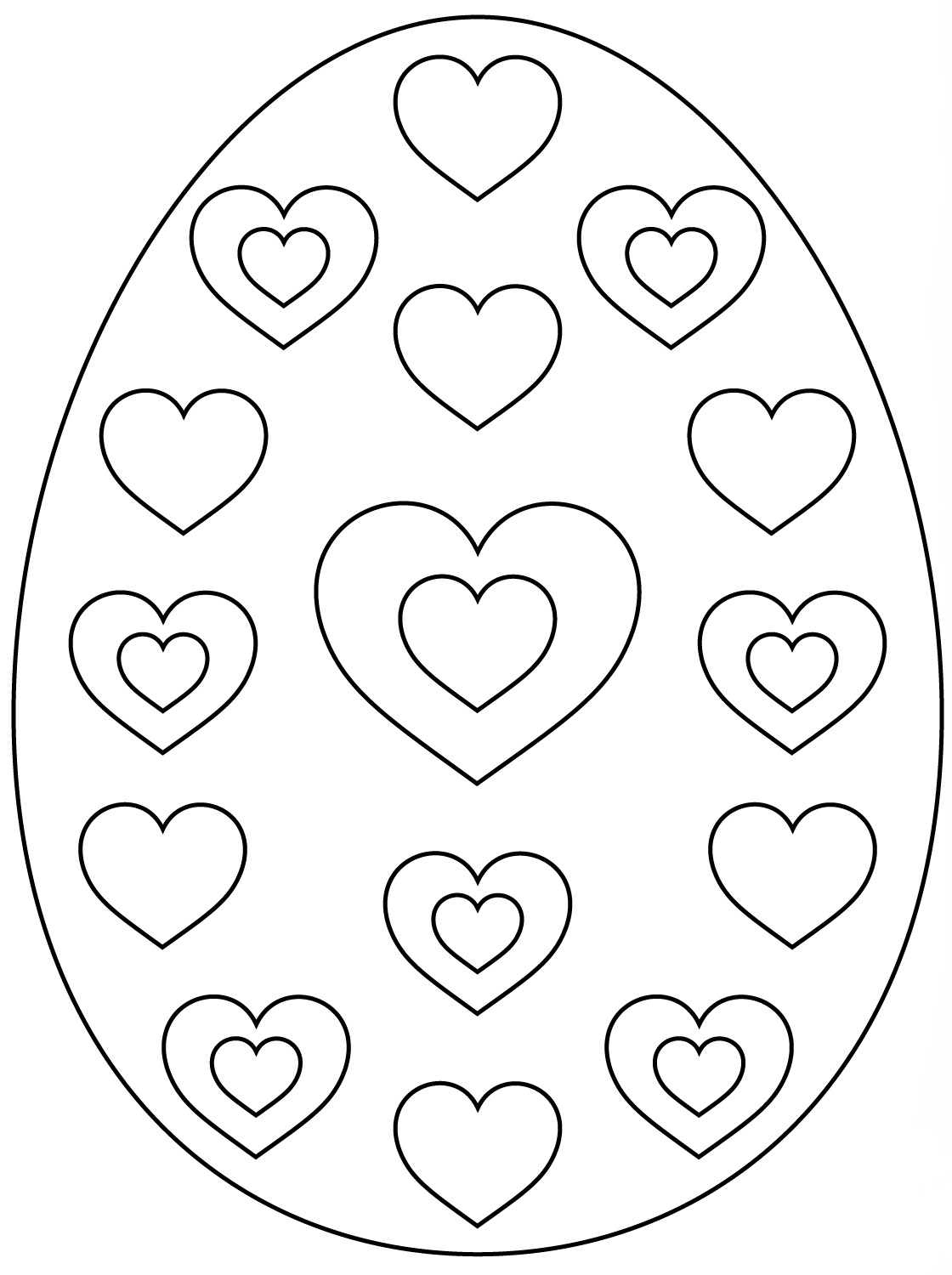 easter eggs coloring page easter egg coloring pages twopartswhimsicalonepartpeculiar easter coloring page eggs