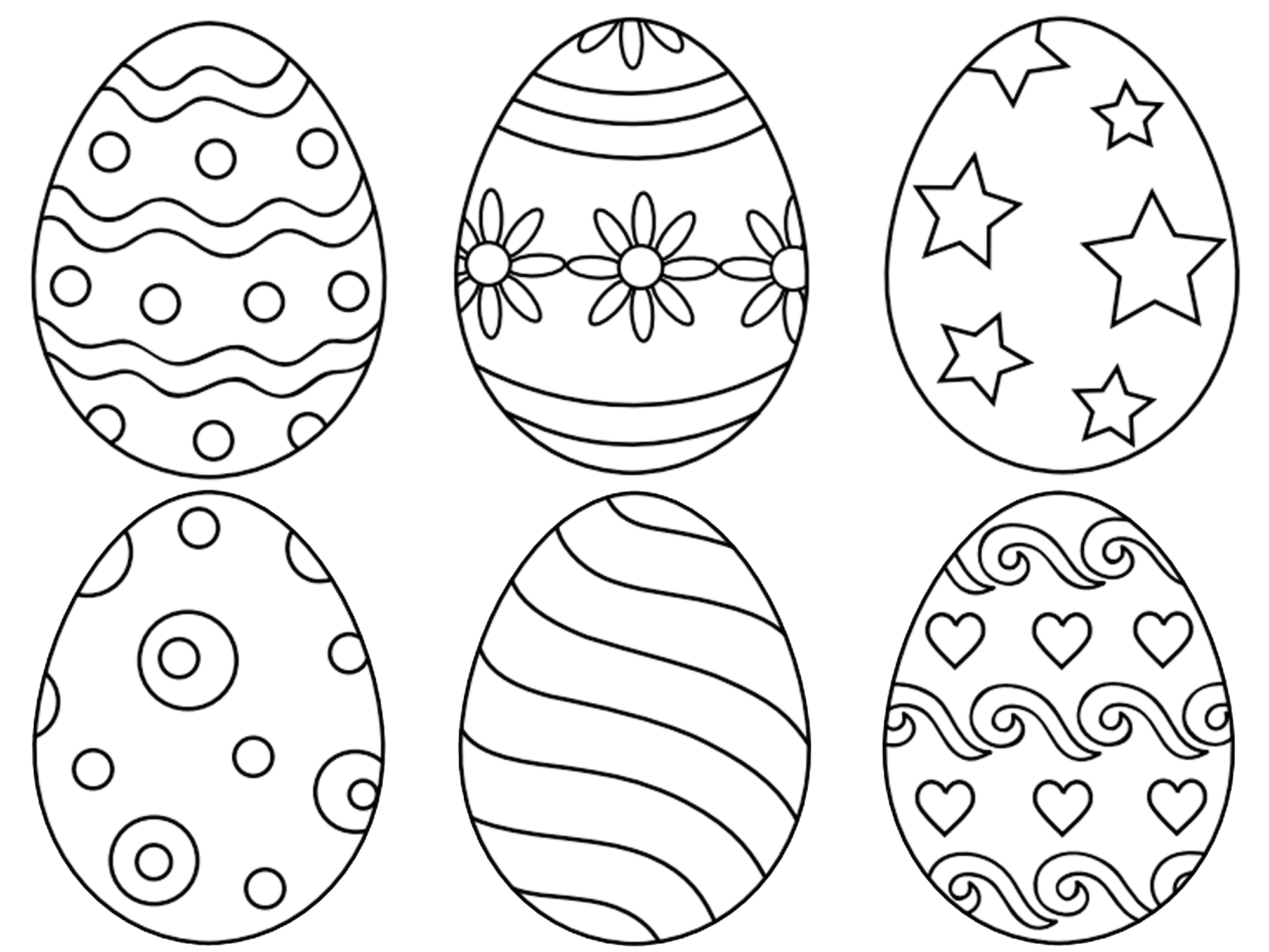 easter eggs coloring page free printable easter egg coloring pages for kids coloring easter eggs page