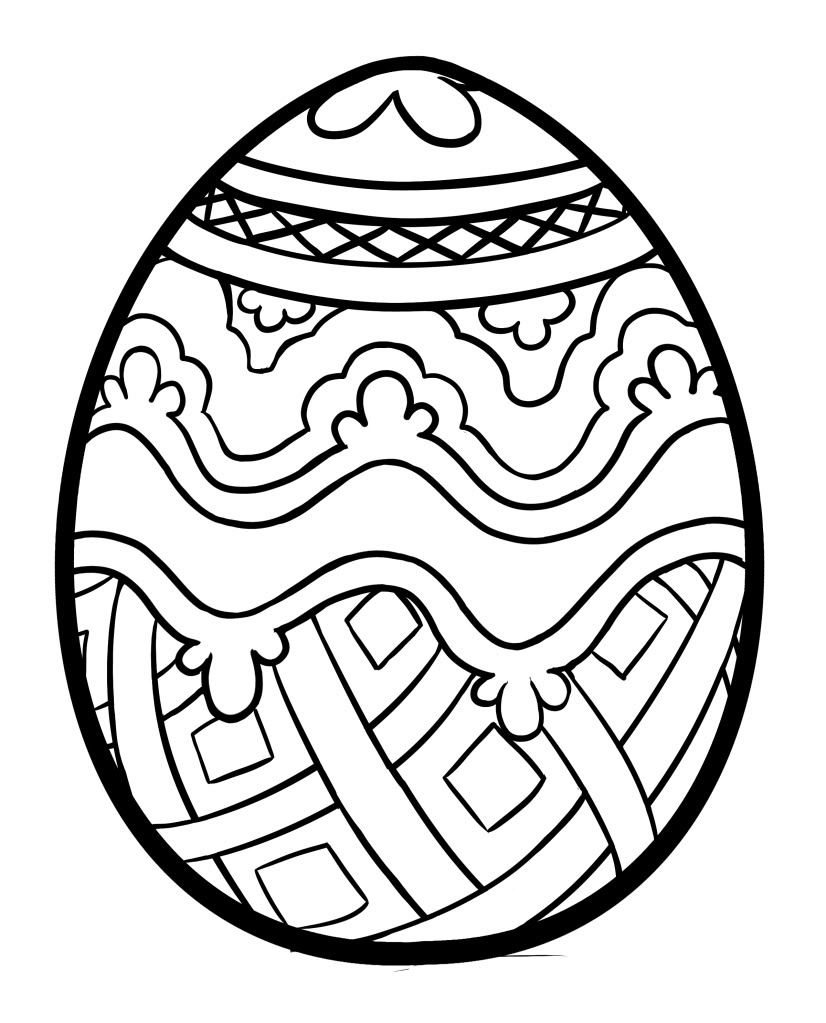 easter eggs coloring page printable easter egg coloring pages at getcoloringscom eggs coloring easter page