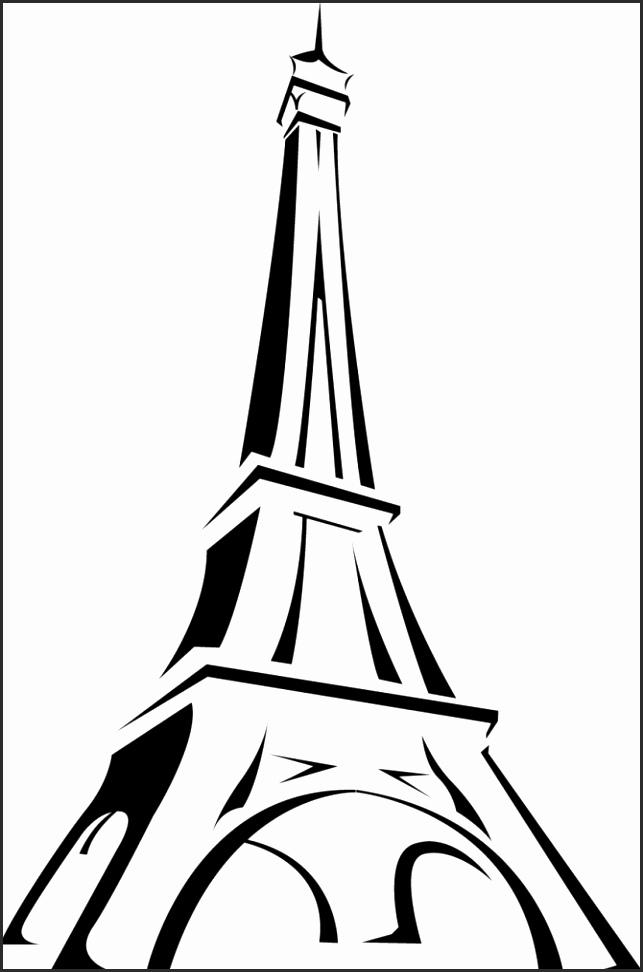 easy eiffel tower drawing 70 easy and beautiful eiffel tower drawing and sketches eiffel easy drawing tower
