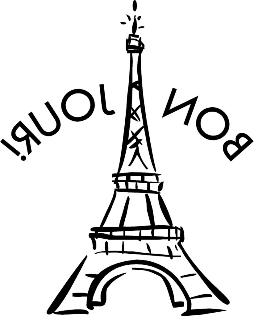 easy eiffel tower drawing eiffel tower drawing black and white at getdrawings free eiffel drawing tower easy