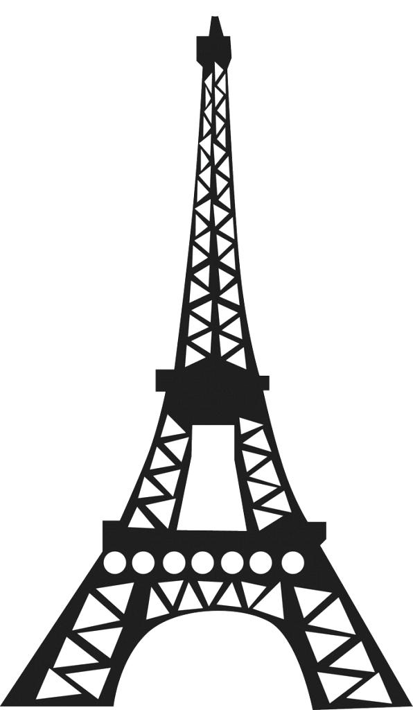easy eiffel tower drawing eiffel tower simple sketch at paintingvalleycom explore eiffel drawing easy tower