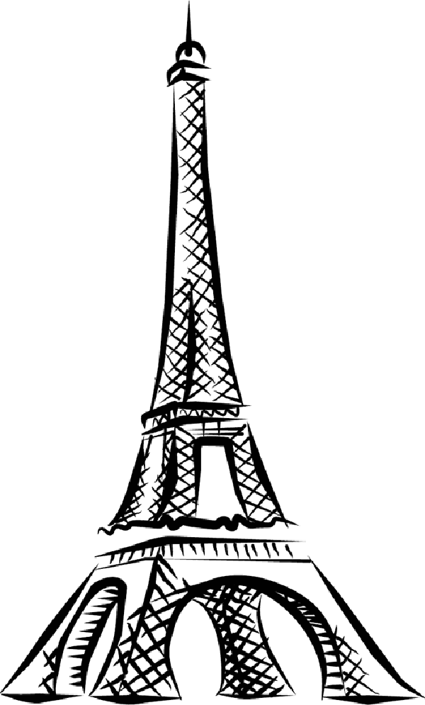 easy eiffel tower drawing learn to draw a cool easy eiffel tower drawing sketch in eiffel tower easy drawing