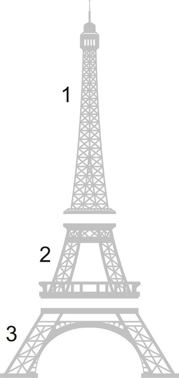 easy eiffel tower drawing paris cupcake toppers the decorated cookie eiffel drawing easy tower