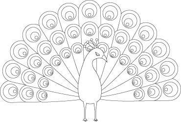 easy printable peacock coloring pages colours drawing wallpaper simple drawing of green peacock coloring printable easy peacock pages