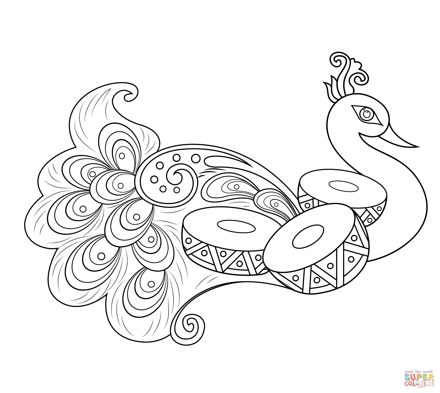 easy printable peacock coloring pages peacock coloring pages getcoloringpagescom coloring pages printable easy peacock