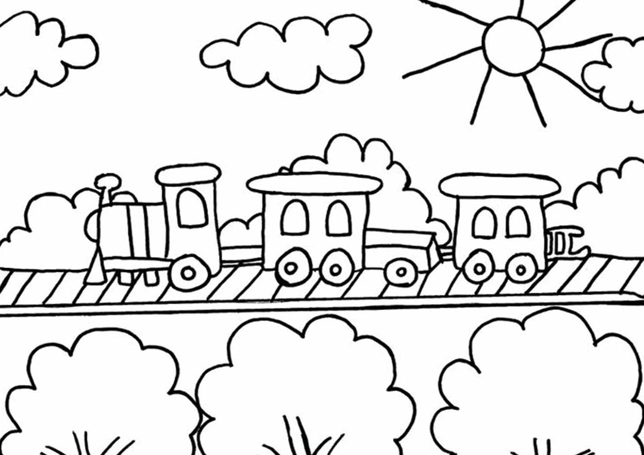 easy train coloring pages simple thomas the train coloring pages thomas the train pages coloring train easy