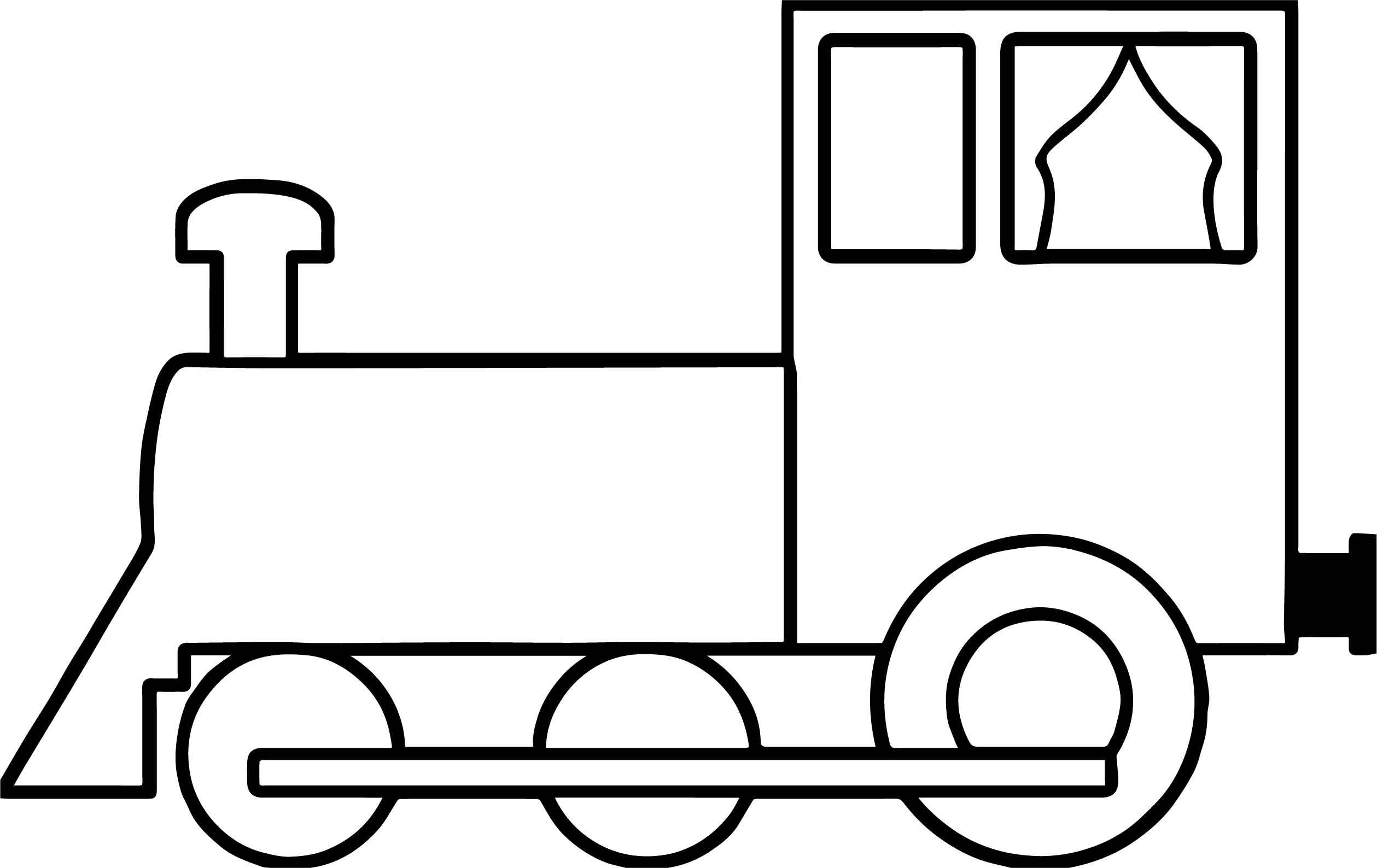 easy train coloring pages simple train coloring page at getdrawings free download easy train pages coloring