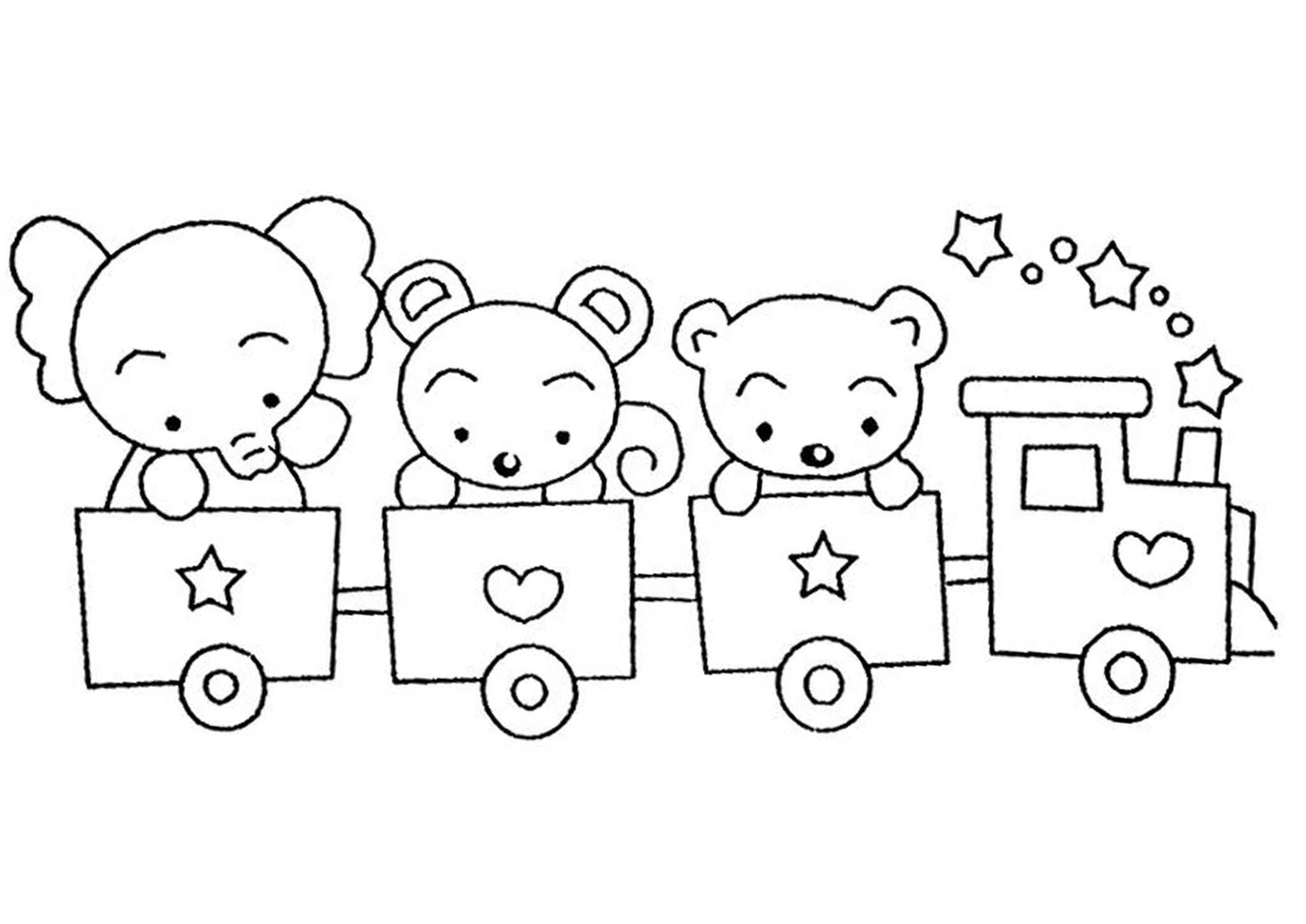 easy train coloring pages toddlers colouring simple train sheet coloring pages train coloring pages easy